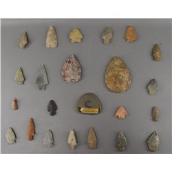 NORTH AMERICAN INDIAN STONE POINTS
