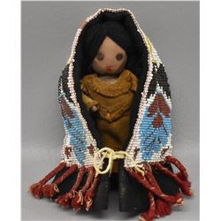 WOODLANDS INDIAN DOLL CRADLE