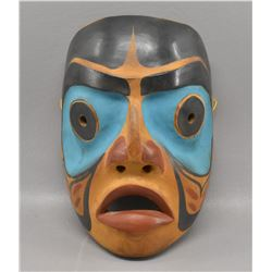 KWAKIUTL INDIAN WOODEN MASK