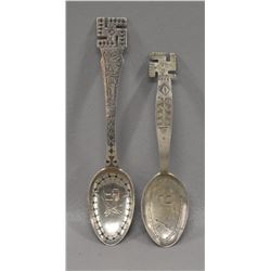 NAVAJO INDIAN SILVER SPOONS