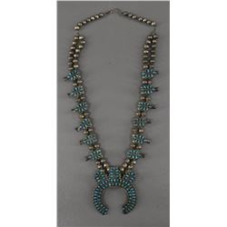ZUNI INDIAN SQUASH NECKLACE