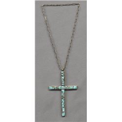 NAVAJO INDIAN CROSS NECKLACE