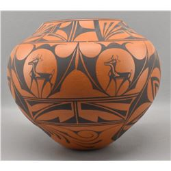 ZUNI INDIAN POTTERY BOWL (PEYNESTA)