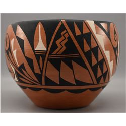 JEMEZ INDIAN POTTERY BOWL (MORA)