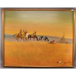 PLAINS INDIAN PAINTING (BEAUDRY)