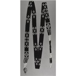 PLAINS INDIAN BEADED SASH