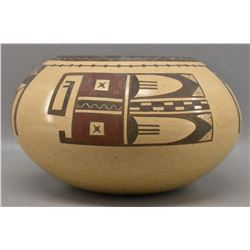 HOPI INDIAN POTTERY BOWL ( AGNES NAHSONHOYA)
