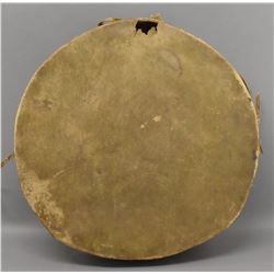 PLAINS INDIAN HIDE DRUM
