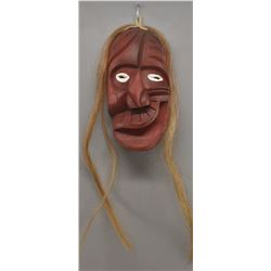 IROQUOIS INDIAN FALSE FACE MASK (NORTON LICKERS)