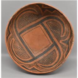 SAINTS JOHNS INDIAN POTTERY BOWL