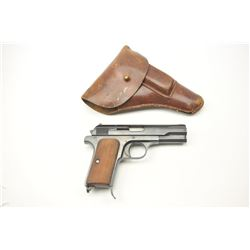 Hungarian FEG M37 semi-automatic pistol, .380  ACP caliber, Serial #100805.  The pistol is  in fine