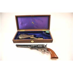 Colt New Black Powder series 1851 Navy  percussion pistol, .36 caliber, Serial  #11704.  The pistol