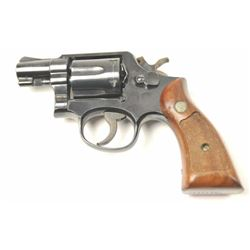 Smith & Wesson Model 10-5 Double Action  Revolver in .38 Special caliber with blue  finish, and chec