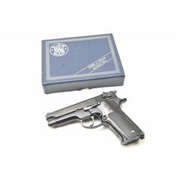 Smith & Wesson Model DA Model 59  semi-automatic pistol, 9mm caliber, Serial  #A363557.  The pistol
