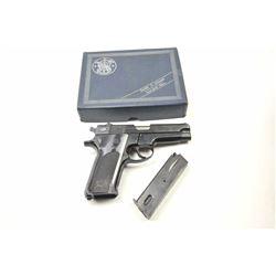 Smith & Wesson DA Model 59 semi-automatic  pistol, 9mm caliber, Serial #A269302.  The  pistol is in