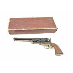 Uberti 1851 Navy black powder pistol, #7376,  .36 cal., blue and color case hardened with  brass tri