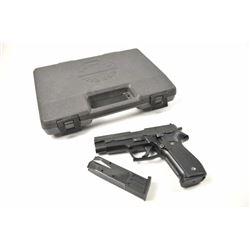 Sig Sauer Model P-226 semi-automatic pistol,  9mm caliber, Serial #U162585.  The pistol is  in fine