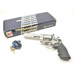 Smith & Wesson Model 629 DA revolver, .44  Magnum caliber, Serial #BKF1651.  The pistol  is as new i