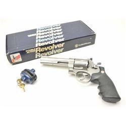 Smith & Wesson Model 629 DA revolver, .44  Magnum caliber, Serial #BKF1651.  The pistol  is as new i