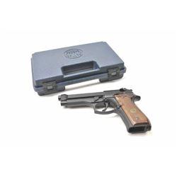 Beretta 92FS DA semi-automatic pistol, 9mm  caliber, Serial #BER214002Z.  The pistol is  as new in t