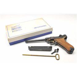 Oberndorf Mauser American Eagle Luger  semi-automatic pistol, .30 caliber, Serial  #10.005243.  This