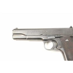 Colt Model 1911 U.S. Army Semi-Auto pistol in  .45 ACP with United States property marked  above ser