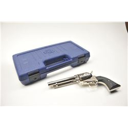 Colt 3rd Generation SA Army revolver, .45  Colt caliber, Serial #S28084A.  The pistol is  as new in