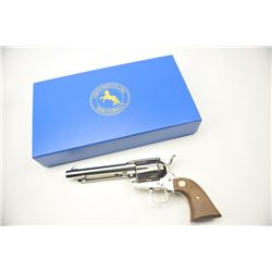 Colt 3rd Generation SA Army revolver, .44-40  caliber, Serial #S06803A.  The pistol is as  new in th