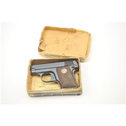 Colt 1908 Semi-Auto Pistol in .25 ACP caliber  with blue and case colored small parts,  medallion wo
