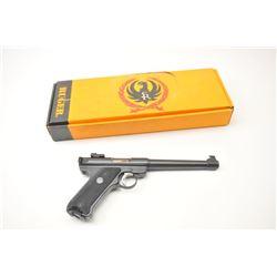 "Ruger Mark II Semi-Auto Target Pistol in .22  L.R. caliber with a 6 7/8"" barrel, adjustable  sights"