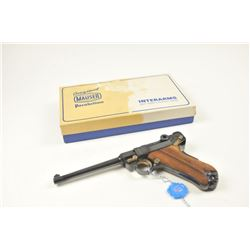 """Original Mauser Oberdorf American Eagle  Series Luger in .30 caliber with a 6"""" barrel,  made in 1970"""