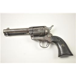 """Colt Single Action Army Revolver in .38-40  caliber with a 4 ¾"""" barrel, patina finish,  and hard rub"""