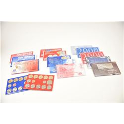 16 U.S. Mint sets from 1998-2007, various  mints and all in mint packs.  Great Christmas  gifts and
