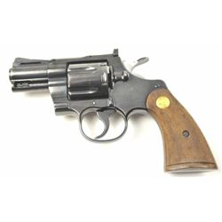 """Very desirable Colt Python 2 ½"""" barrel,  #93810, .357 Mag. cal., adjustable sights,  with full check"""