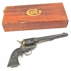 "Colt 3rd Generation SAA revolver in .357  magnum caliber with a 7 ½"" barrel, blue and  case color fi"