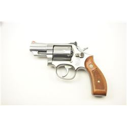 "Smith & Wesson Model 66-3 Double Action  Stainless Steel Revolver in .357 mag with a 2  ½"" barrel, S"