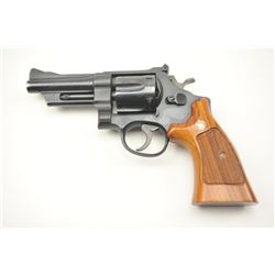 """Smith & Wesson Model 28-2 Highway Patrol  heavy duty revolver in .357 Mag with a 4""""  pinned barrel,"""
