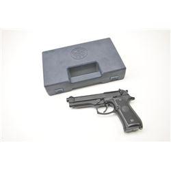 Beretta Model 92F Semi-Auto Pistol 9mm, S/N  C803972 in box with 2 15 round mags (Magazine  not tran