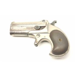 Remington Elliot��s Patent O/U Derringer in  .41 rimfire caliber with 1 line address  ��Remington Arms