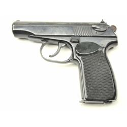 East German Makarov Semi-Auto pistol in 9 x  19 caliber, S/N EV4959 and 1964 dated.  90%-95% commerc