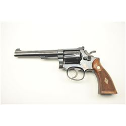 """Smith & Wesson K-22 Double Action 4 screw  Revolver with 6"""" barrel, S/N k266153. 80%-90%  original b"""