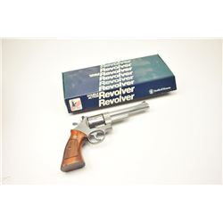 """Smith & Wesson Model 657 Double Action  Stainless Steel revolver in .41 Mag caliber  with a 6"""" barre"""