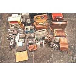 Walter Crane photographer, Collection of  Cameras, 2102 W. Almond Avenue, Orange,  California, from