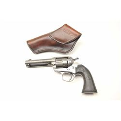 "Colt Bisley Model Single Action Revolver with  a 4 ¾"" barrel in .32-20 caliber, S/N 288627.  Lightly"