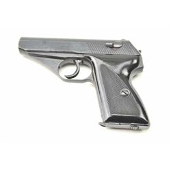 """Mauser HSC Semi-Auto Pistol with crown """"N""""  commercial proof and Waffen UMP on the  trigger guard, S"""