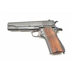 "Ballister Molina Argentine made Semi-Auto  Pistol in .45 caliber with slide marked  ""Direccion Gener"