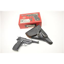 Manurhin P1 Semi-Auto pistol in 9x19 mm  caliber (West German police trade in) with  military style