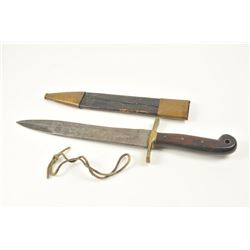 U.S. Rifleman��s knife marked Ames and dated  1849 with U.S.M R on the reverse and S.  Carolina stamp