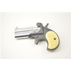 FIE Model D 38 O/U derringer, .38 Special  caliber, Serial #594455.  The pistol is in  fine overall