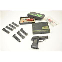 Heckler & Koch HK Model 4 semi-automatic  pistol, 7.65mm caliber, Serial #42208.  The  pistol is in